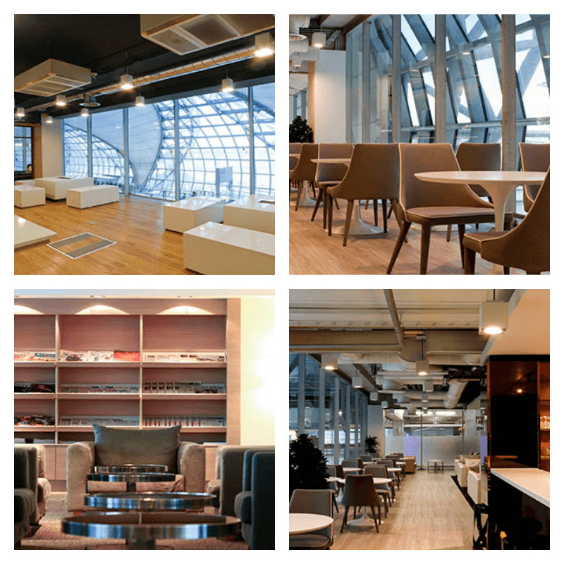 Louis' Tavern First Class & Business Class CIP Lounge