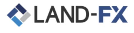 LAND FXのロゴ
