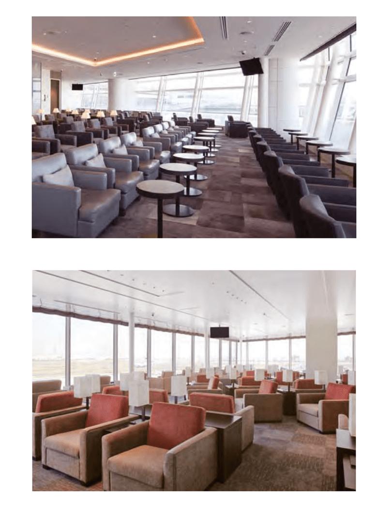 羽田空港 国際線 TIAT LOUNGE:TIAT LOUNGE ANNEX