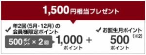 MUJIショッピングポイント 入会キャンペーン
