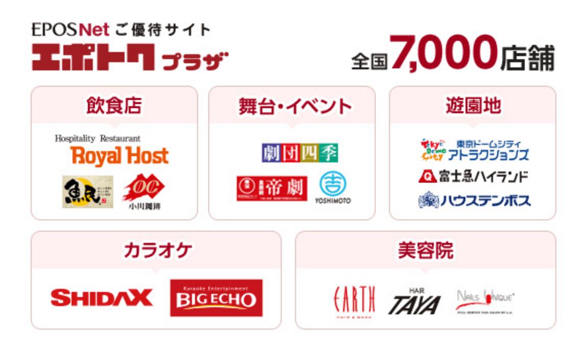 エポトクプラザ 7000店舗