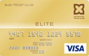 SuMi TRUST CLUB エリートカードの券面