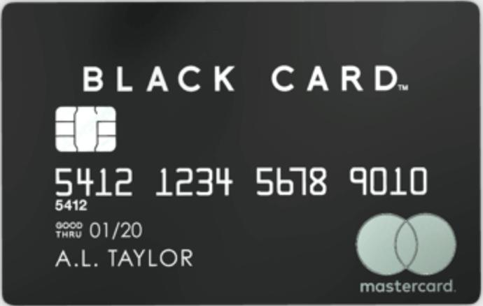 Mastercard Black Card