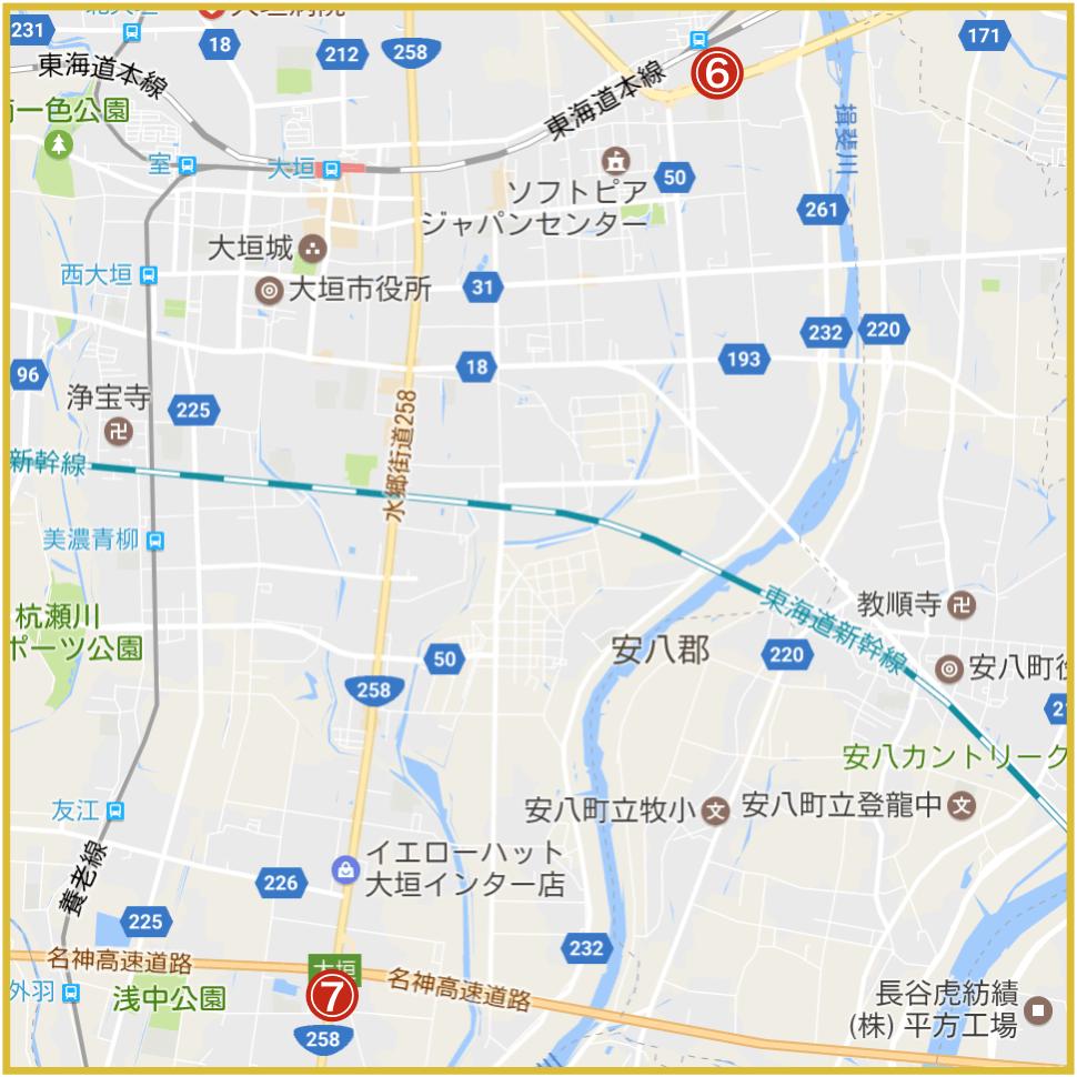岐阜県大垣市にあるプロミス店舗・ATM