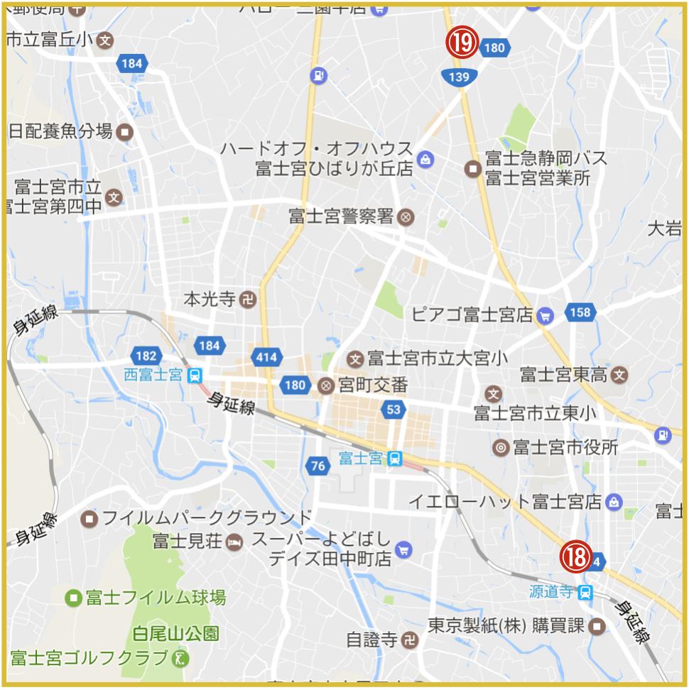 静岡県富士宮市にあるプロミス店舗・ATM