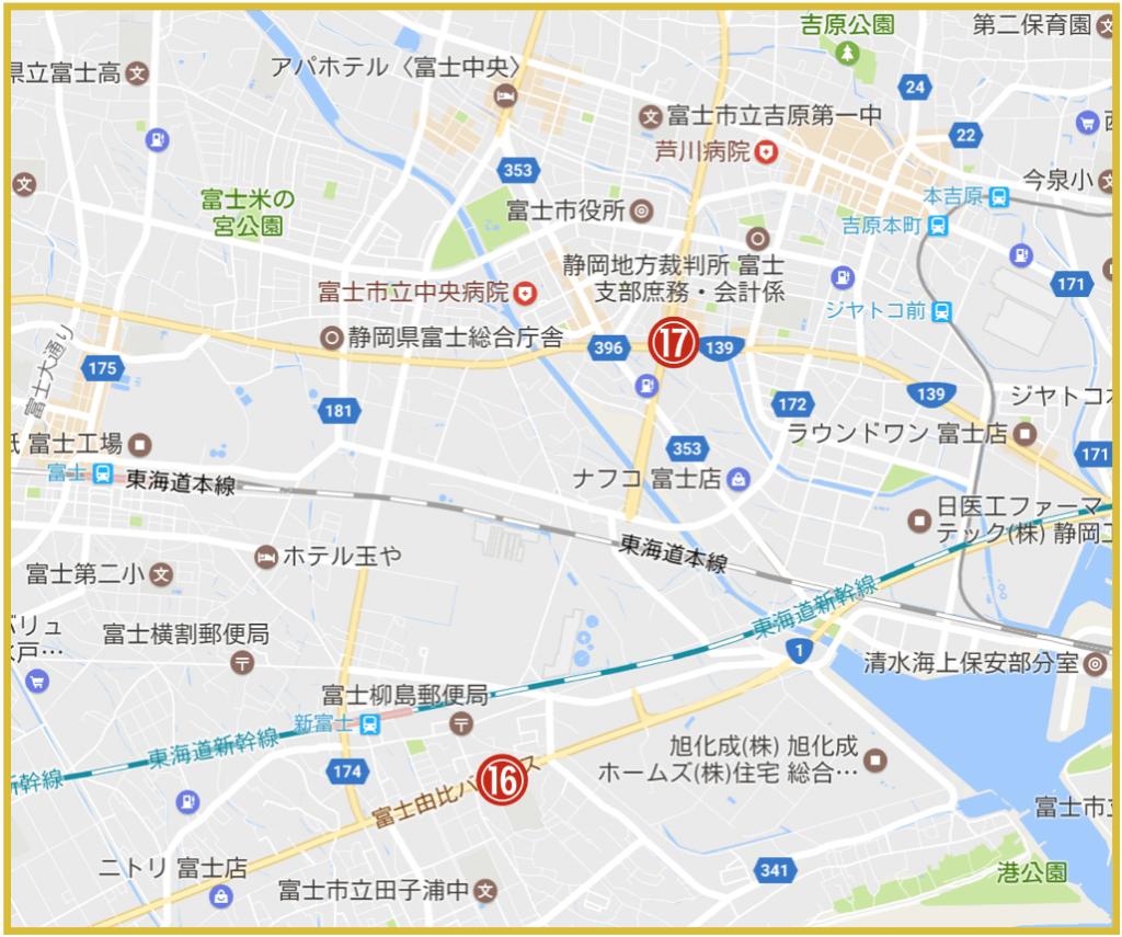 静岡県富士市にあるプロミス店舗・ATM