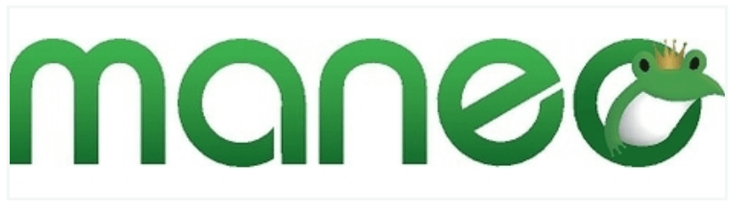 maneoのロゴ