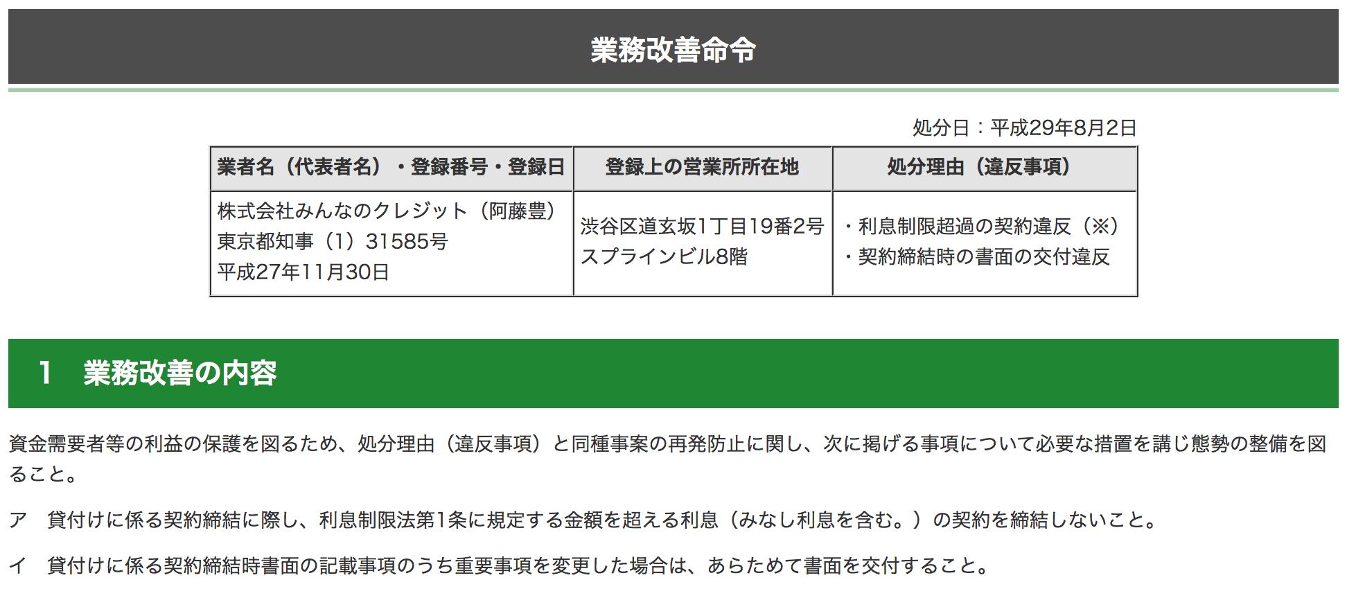 東京都産業労働局金融部貸金業対策課