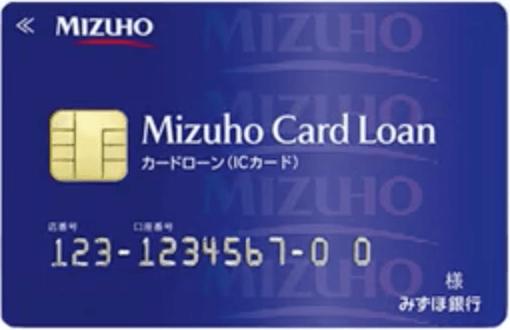 みずほ銀行カードローン「カードローン専用カード」