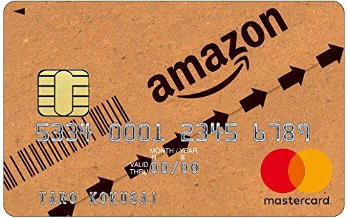 Amazon Mastercardクラシックの券面