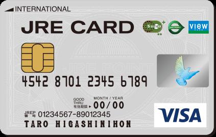 JRE CARDの券面