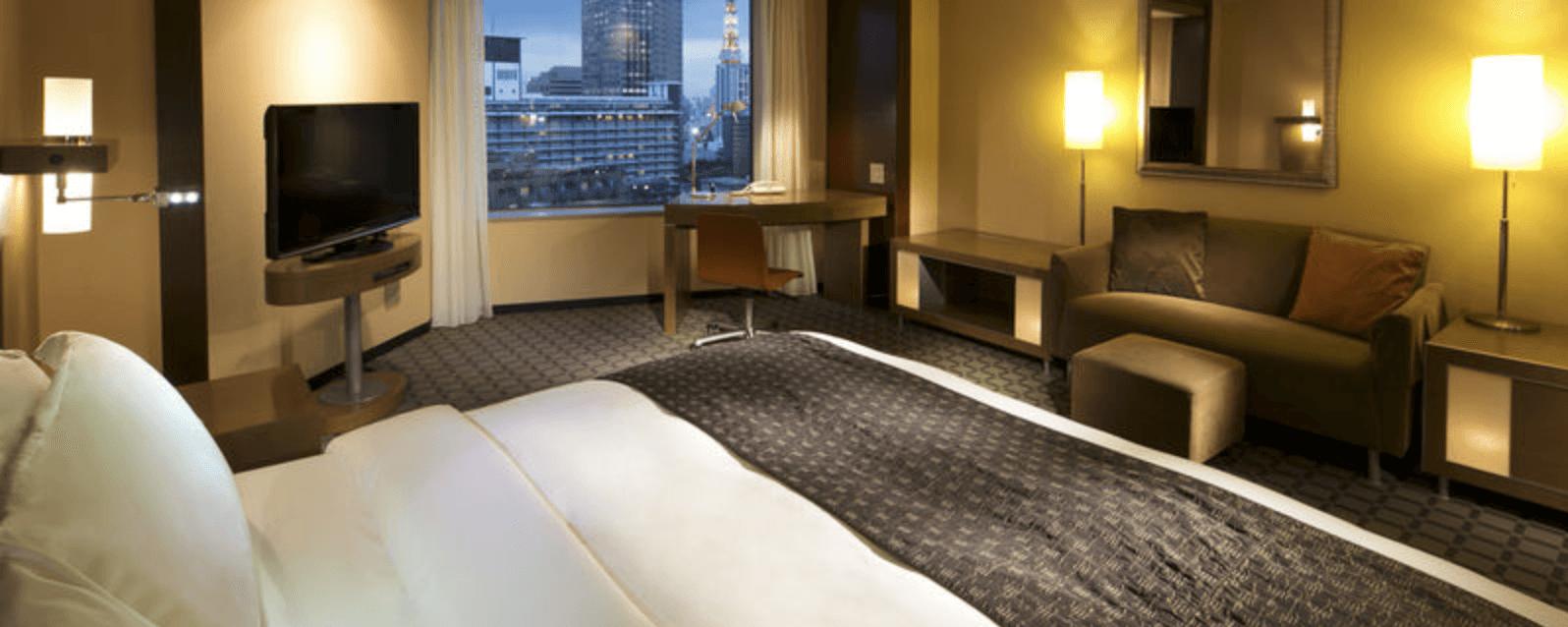 ANAインターコンチネンタルホテル東京のクラシックダブルの部屋