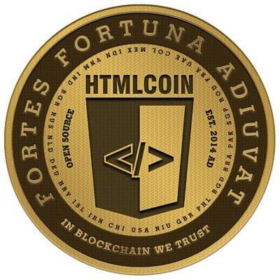 HTMLコインのイメージ