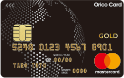 Orico Card THE WORLDの新Mastercardロゴの券面