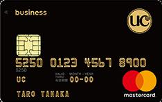 UC法人カード ゴールドの券面