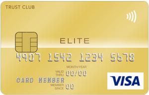 SuMi TRUST CLUB エリートカードのIC付き券面