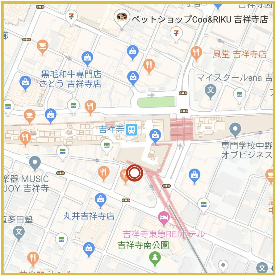 吉祥寺駅周辺にあるプロミス店舗・ATMの位置(2019年12月版)