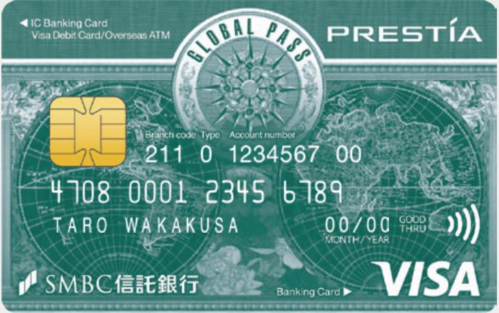 GLOBAL PASSの券面