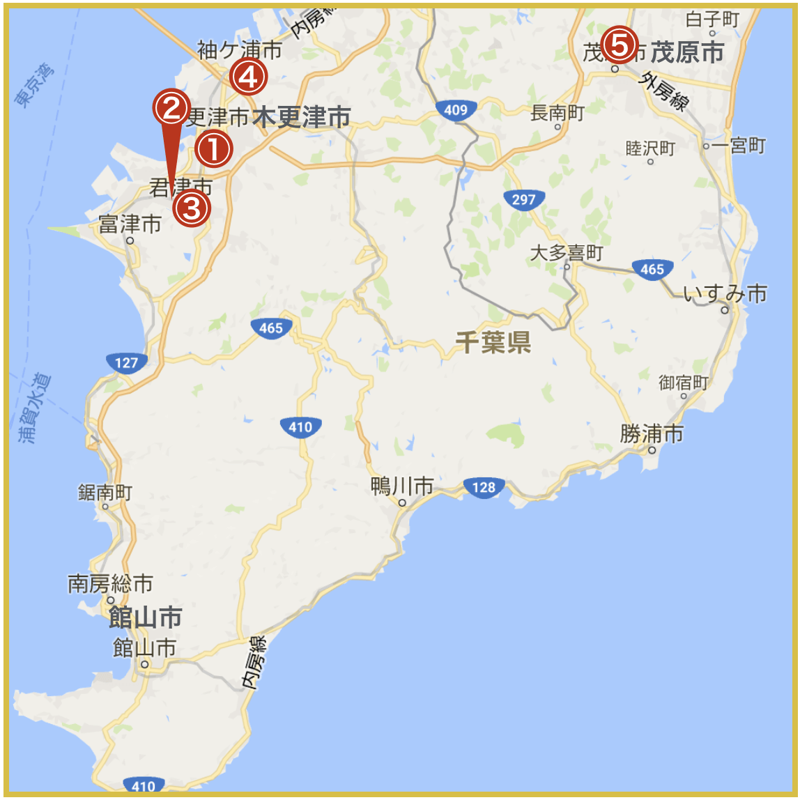 千葉県南地域にあるアコム店舗・ATMの情報