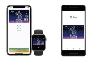 ディズニーJCBゴールドカードはApple Pay:Google Payに対応