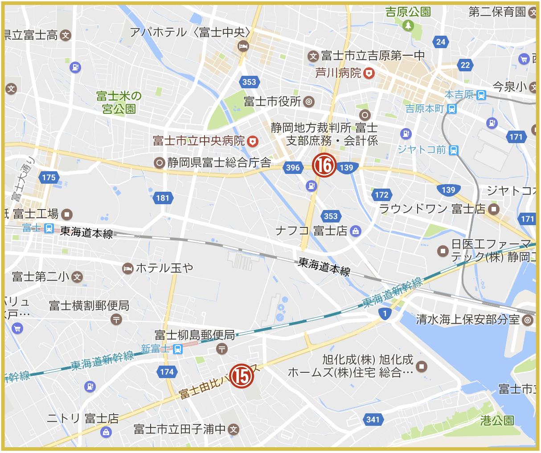 静岡県富士市にあるプロミス店舗・ATM(2020年版)