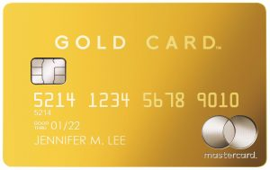 Mastercard Gold Cardの新券面