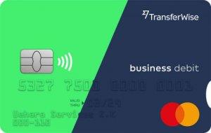 Wiseプラチナ法人デビットカードの券面画像