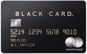 Mastercard Black Cardの新券面