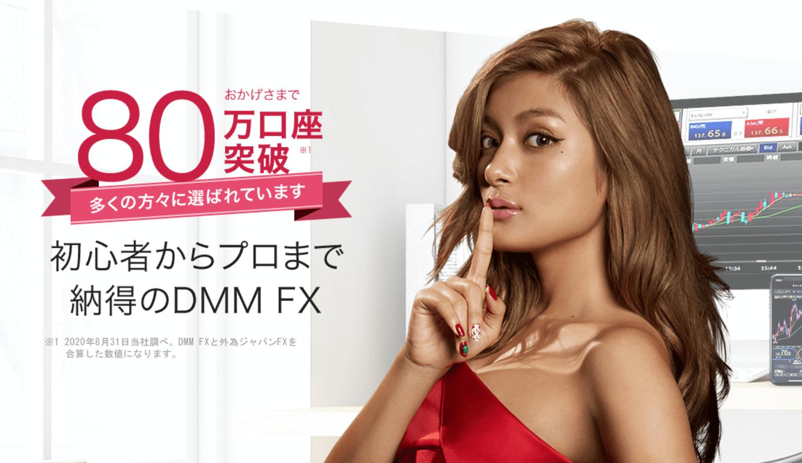 DMM FXの公式ページ