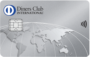 ダイナースクラブカードの券面(タッチ決済対応)