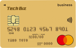 Tech Biz(テックビズ)カードの券面
