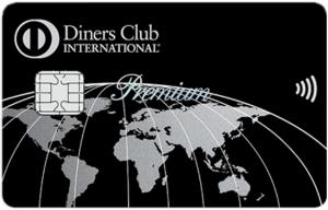 ダイナースクラブ プレミアムカードの券面(タッチ決済対応)