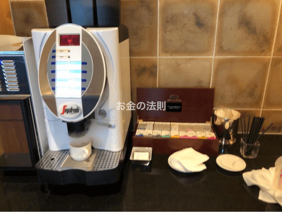 コンラッド東京エグゼクティブラウンジ軽食5