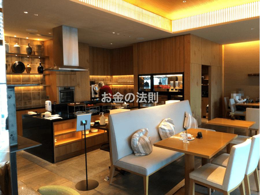 コンラッド東京エグゼクティブラウンジ軽食8