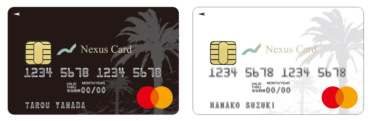Nexus Cardの券面画像